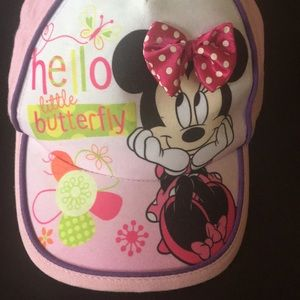 Disney Accessories - Toddler girls Minnie Mouse hat